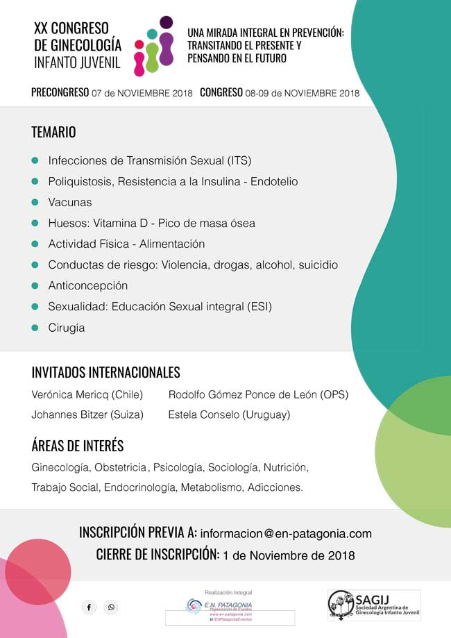 Flyer Congreso 2018